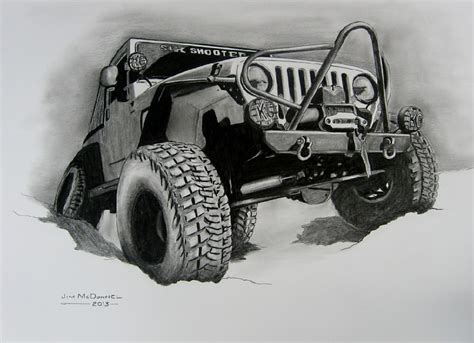 lifted jeep drawing 1995 jeep cherokee lifted