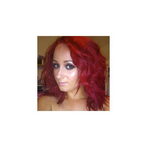 semi hair color renbow colour semi permanent hair dye vermillion