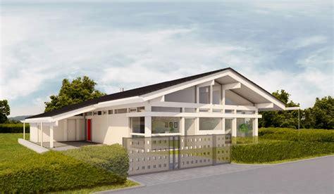 Moderne Häuser Aus Holz by Huf Haus Bungalow Modernes Fertighaus Aus Holz Und Glas