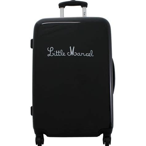 lot de 3 valises dont 1 cabine marcel couleur principale noir solde