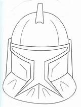 Coloring Helmet Stormtrooper Clone Trooper Mask Ren Kylo Printable Getcolorings sketch template