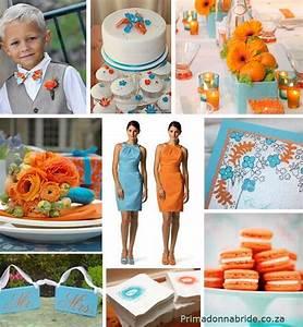 96 best Blue and Orange Wedding Colors images on Pinterest ...