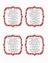 Candy Cane Poem.pdf - Google Drive   Christmas gift ideas ...