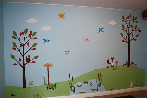Turquoise Kitchen Decor Ideas - children 39 s wall mural classic fauxs finishes