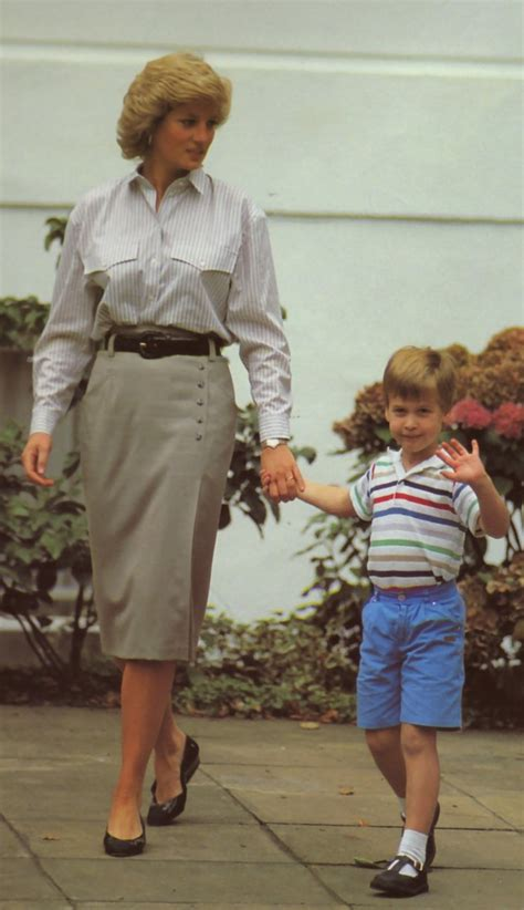 September 16 1987 Harry's first day of school   Princess ...