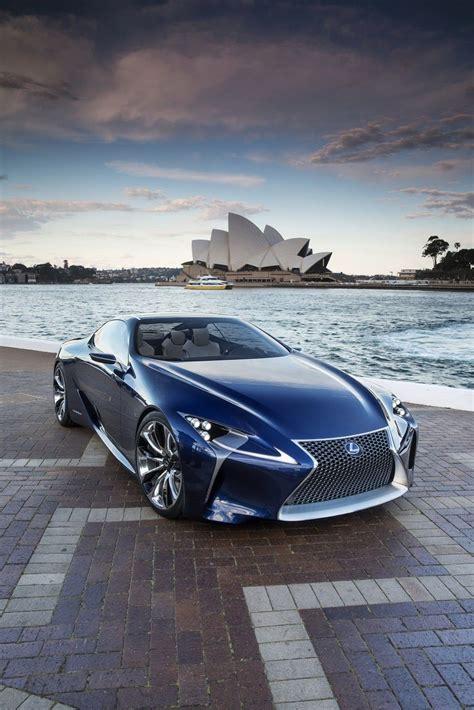 lexus motorcycle lexus lf lc blue concept car concept futuristic