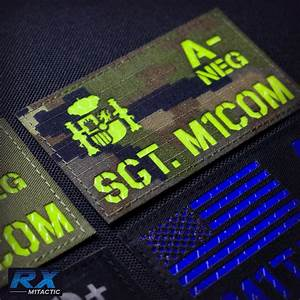 Custom Call Sign Id Patch Panel  Reflective