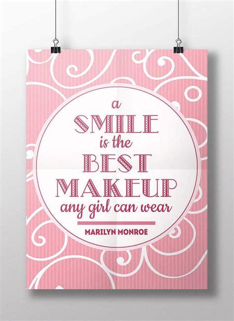smile    makeup famous marilyn monroe