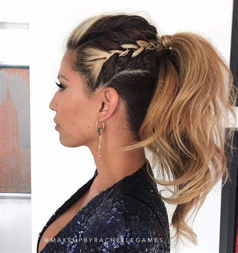 ponytail hairstyles pretty posh playful vintage