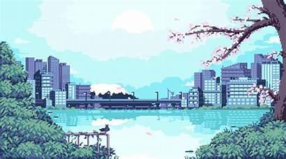 Japanese Themed Anime Pixels Pixelart Fifth Salvo