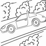 Coloring Driving Highway Pages Mitraland Fun Easy sketch template