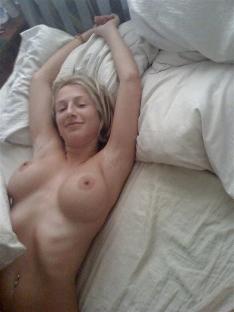Amateur Hot Busty Blonde At