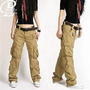 Cargo Pants Women Camouflage Dance trousers Women Hip Hop ...
