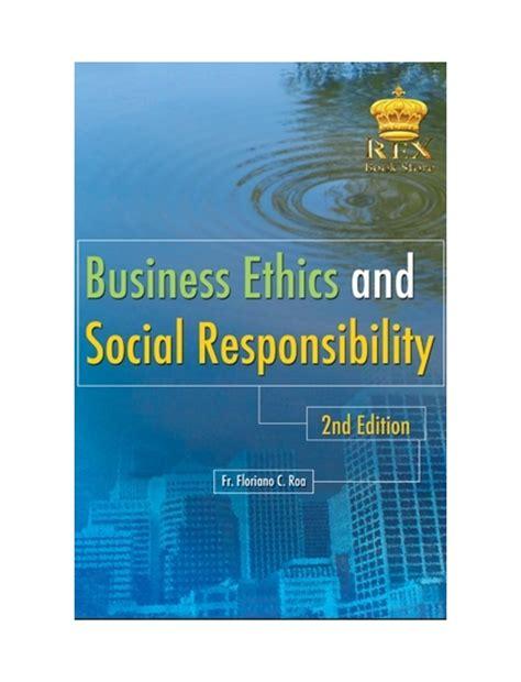 business ethics  social responsibility  roa