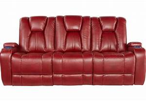 alexander valley red power reclining sofa sofas red With red recliner sectional sofas