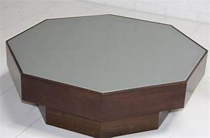 Wwwroomservicestorecom walnut grey glass octagon for Octagon glass top coffee table