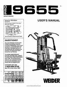 Weider Pro 9655