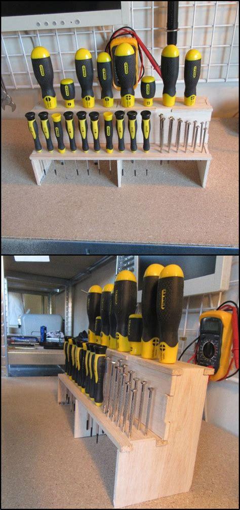 screwdriver set organized   diy