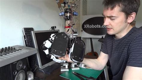 Android 11 Bipedal Humanoid Robot Update, Building The