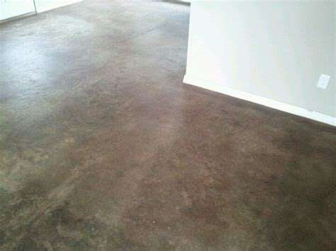 stained concrete desert oasis by behr my home behr stained concrete and garage