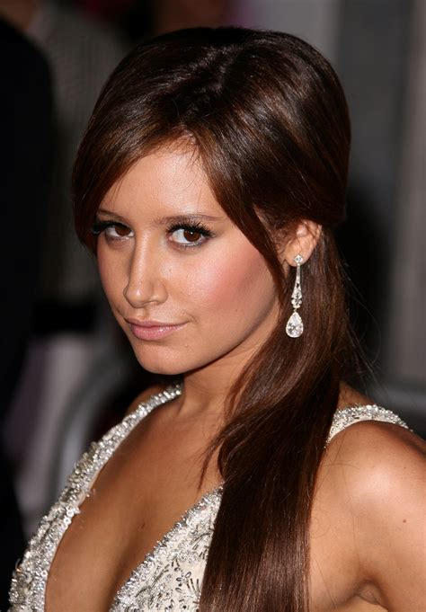 Darkest Brown Hair by Tisdale Busts Out Brown Hair For Hsm3 Oceanup