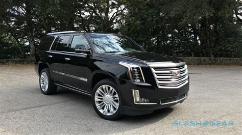 2016 Cadillac Escalade Platinum Review Slashgear