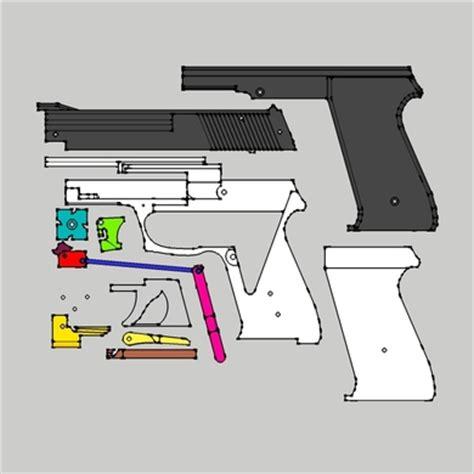 rubber band gun template knowing wooden blowback rubber band gun plans dadi wood