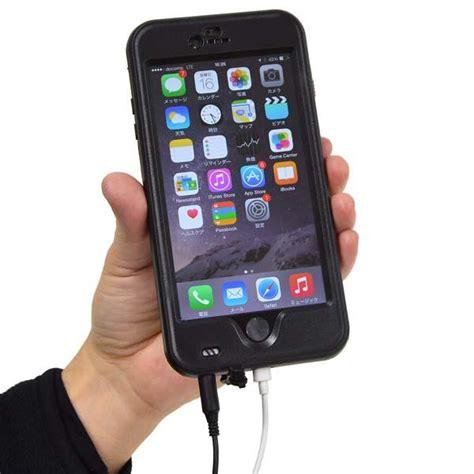 iphone 6 plus waterproof thanko waterproof iphone 6 plus and iphone 6 cases gadgetsin