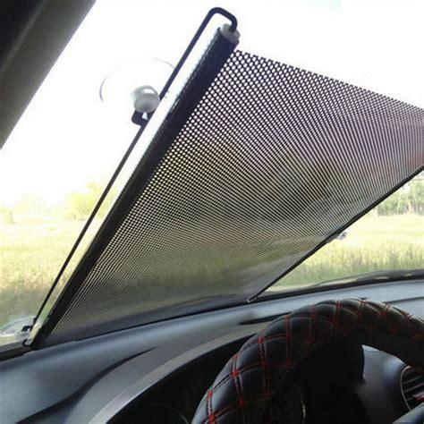 auto accessories retractable side side window car sun