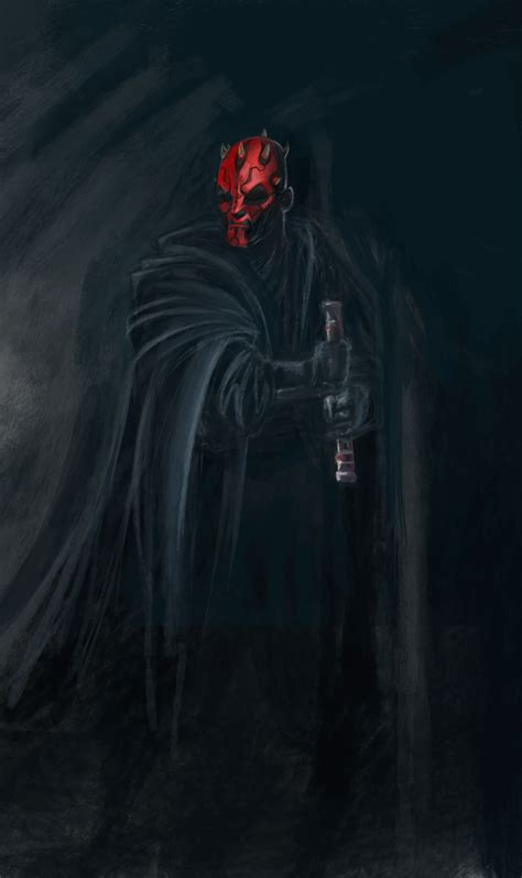 Star Wars Darth Maul Wallpaper Darth Maul By Omaruindustries On Deviantart
