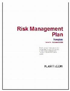 Risk management plan other files documents and forms for Documents for risk management plan