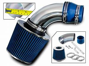 Bcp Blue 2009 2010 2011 Chevy Aveo Aveo5 1 6l L4 Short Ram Air Intake   Filter