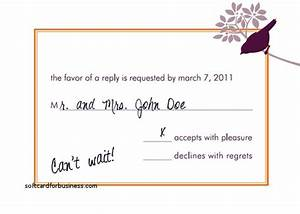 Wedding invitation best of how to respond to a wedding for Wedding rsvp cards how to respond