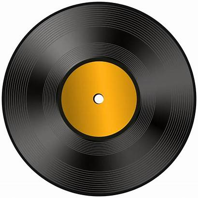 Record Vinyl Clip Clipart Drawing Transparent Yopriceville
