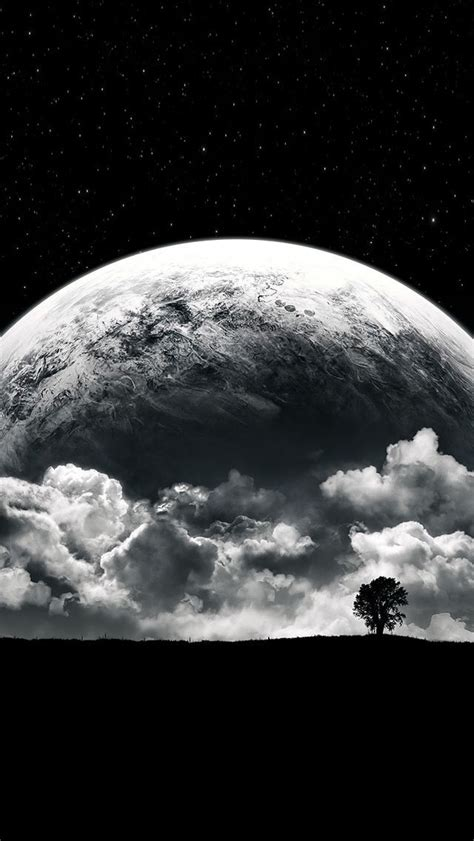Black Wallpaper Iphone Moon by 30 Best Black Iphone Wallpapers Images On