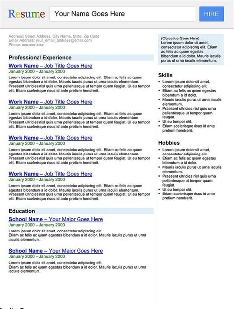 creative resume search engine by rkaponm on deviantart