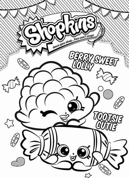 Birthday Shopkins Coloring Pages Colouring Rice Books