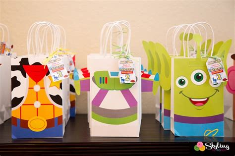 toy story party bag template kara s party ideas toy story themed birthday party kara