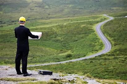Land Development Planning Process Road Plan Started