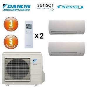 Climatiseur Bi Split : daikin bi split inverter 2mxs40h 2 ftxs20k ~ Dallasstarsshop.com Idées de Décoration