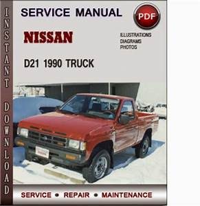 69 3 193 1989 1990 Nissan Hardbody D21 Truck Service Repair Manuals