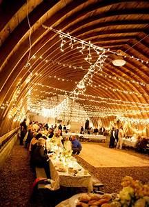 a peak inside a rustic barn wedding weddings With barn wedding lighting ideas