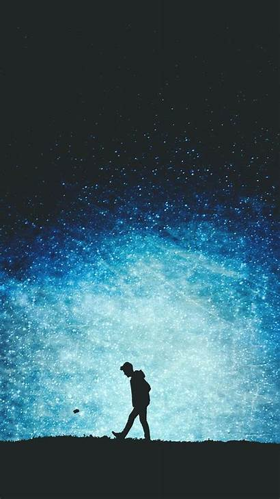 Alone Iphone Wallpapers Boy Artistic