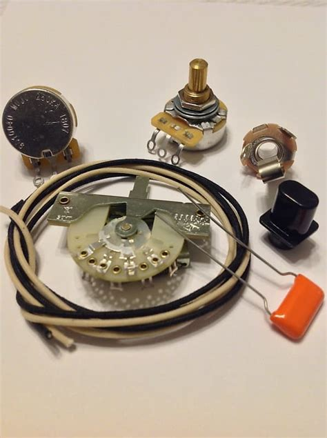 Custom Spec Wiring Harness Upgrade Kit For Telecaster Cts