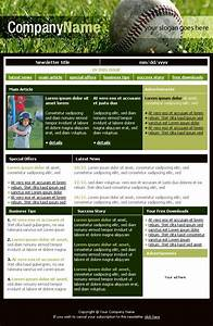 free newsletter templates downloads baseball club With team newsletter template