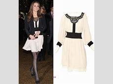 Kate Middleton Temperley London Dress Dec 2010 What
