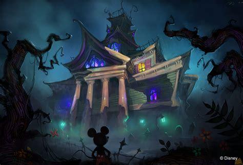 Mickey Mouse Creepy Dark Halloween Disney Haunted