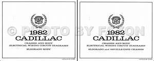 1982 Cadillac Repair Shop Manual Original