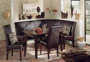 breakfast kitchen nook corner bench booth dining set