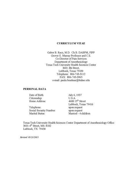 Resume Vs Cv Wiki by Curriculum Vitae
